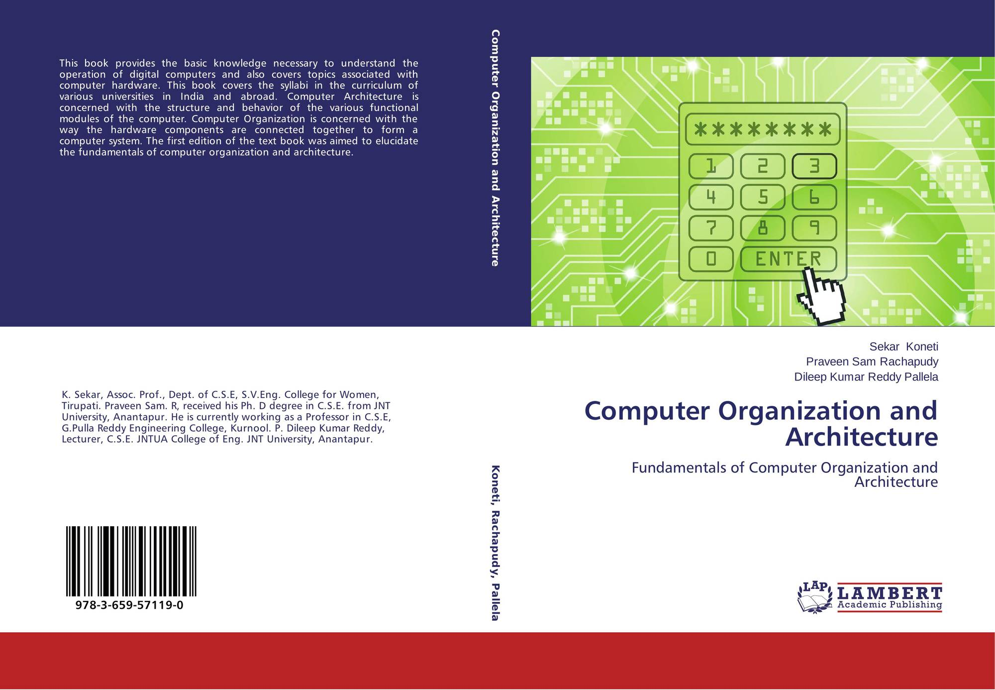 of computer organization and architecture
