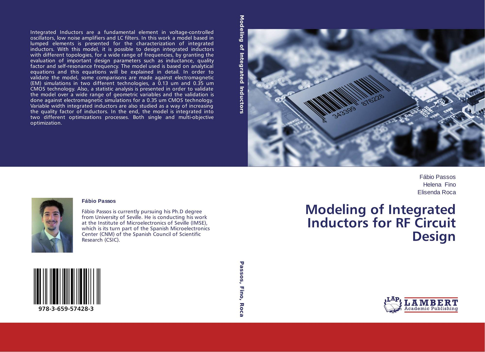 Modeling Of Integrated Inductors For Rf Circuit Design 978 3 659 Circuits With 9783659574283