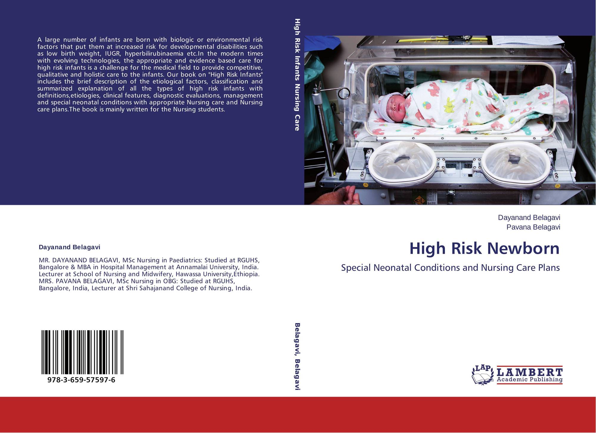 High Risk Newborn, 978-3-659-57597-6, 3659575976 ,9783659575976 by
