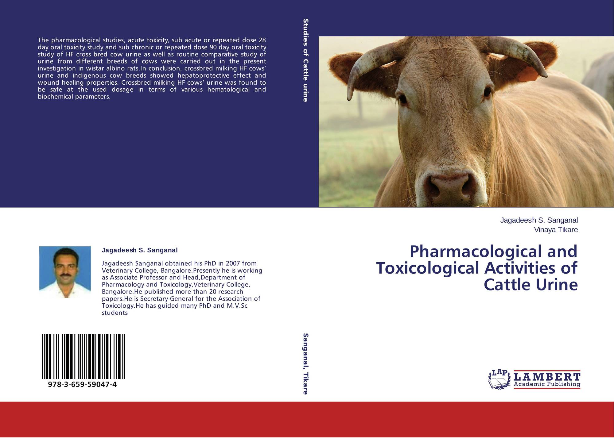 research paper on cow urine