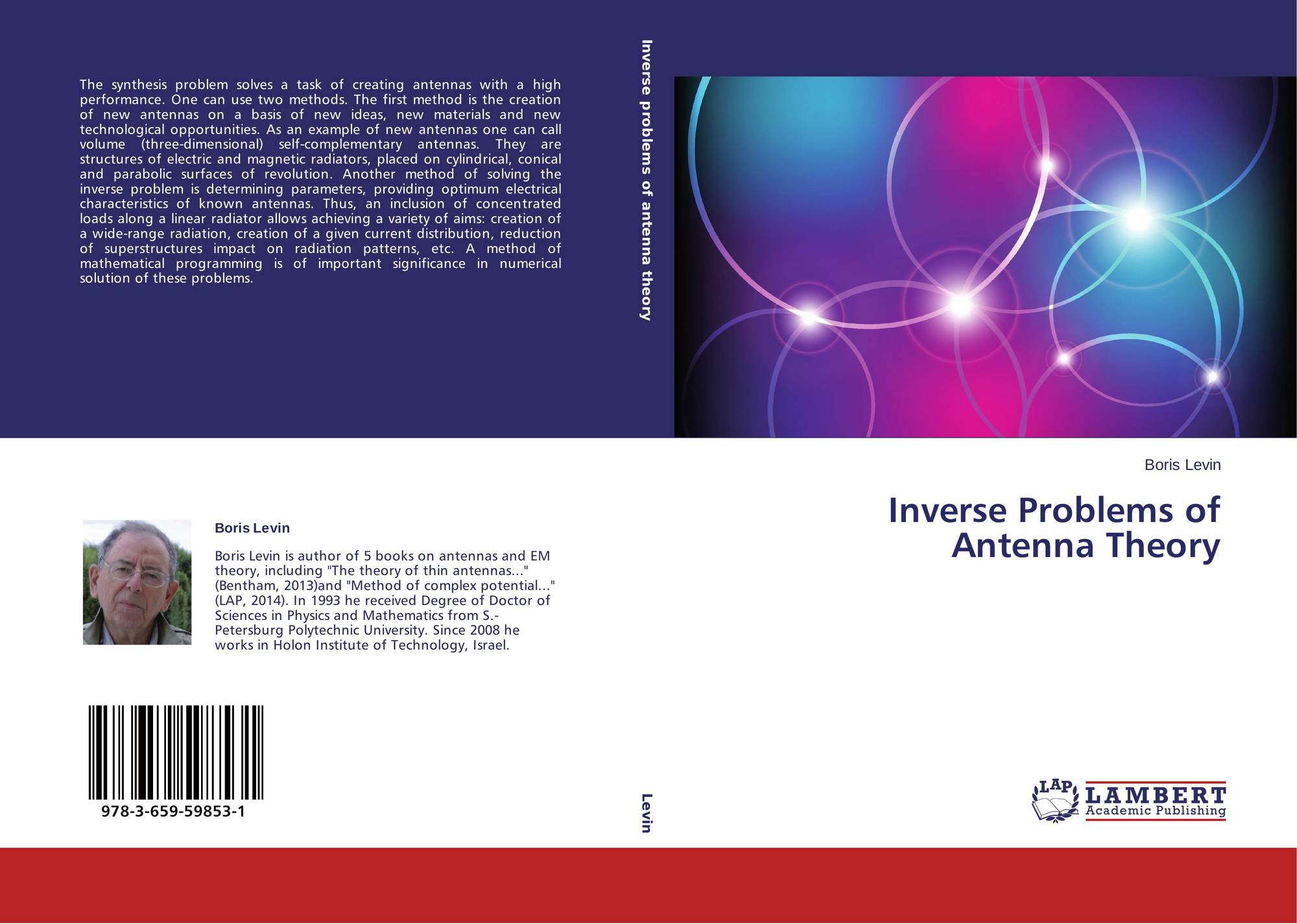 Inverse Problems of Antenna Theory, 978-3-659-59853-1