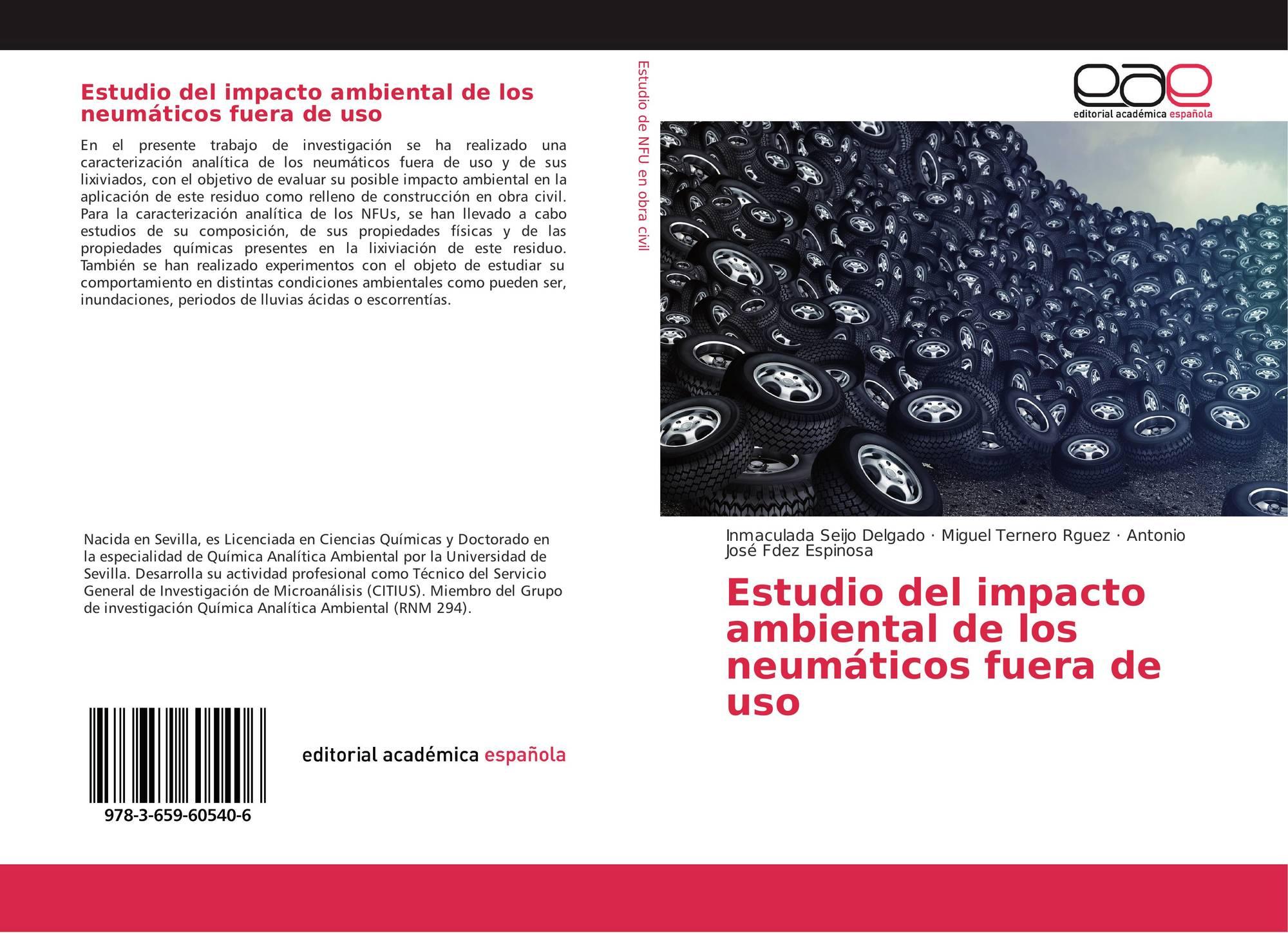 Estudio del impacto ambiental de los neum ticos fuera de for Neumaticos fuera de uso