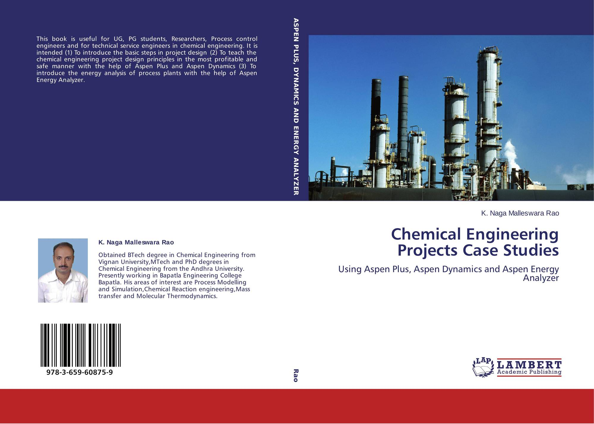 design thesis chemical engineering list