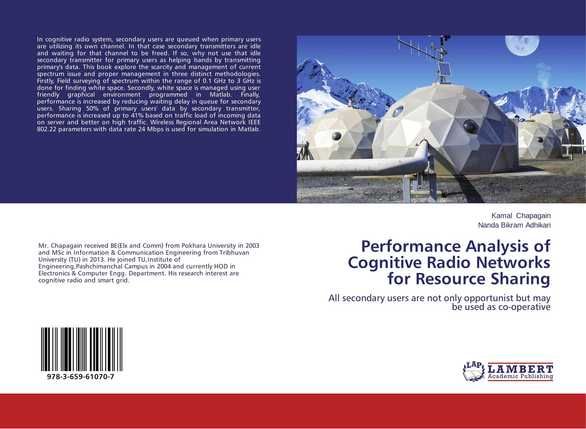 cognitive radio networks thesis