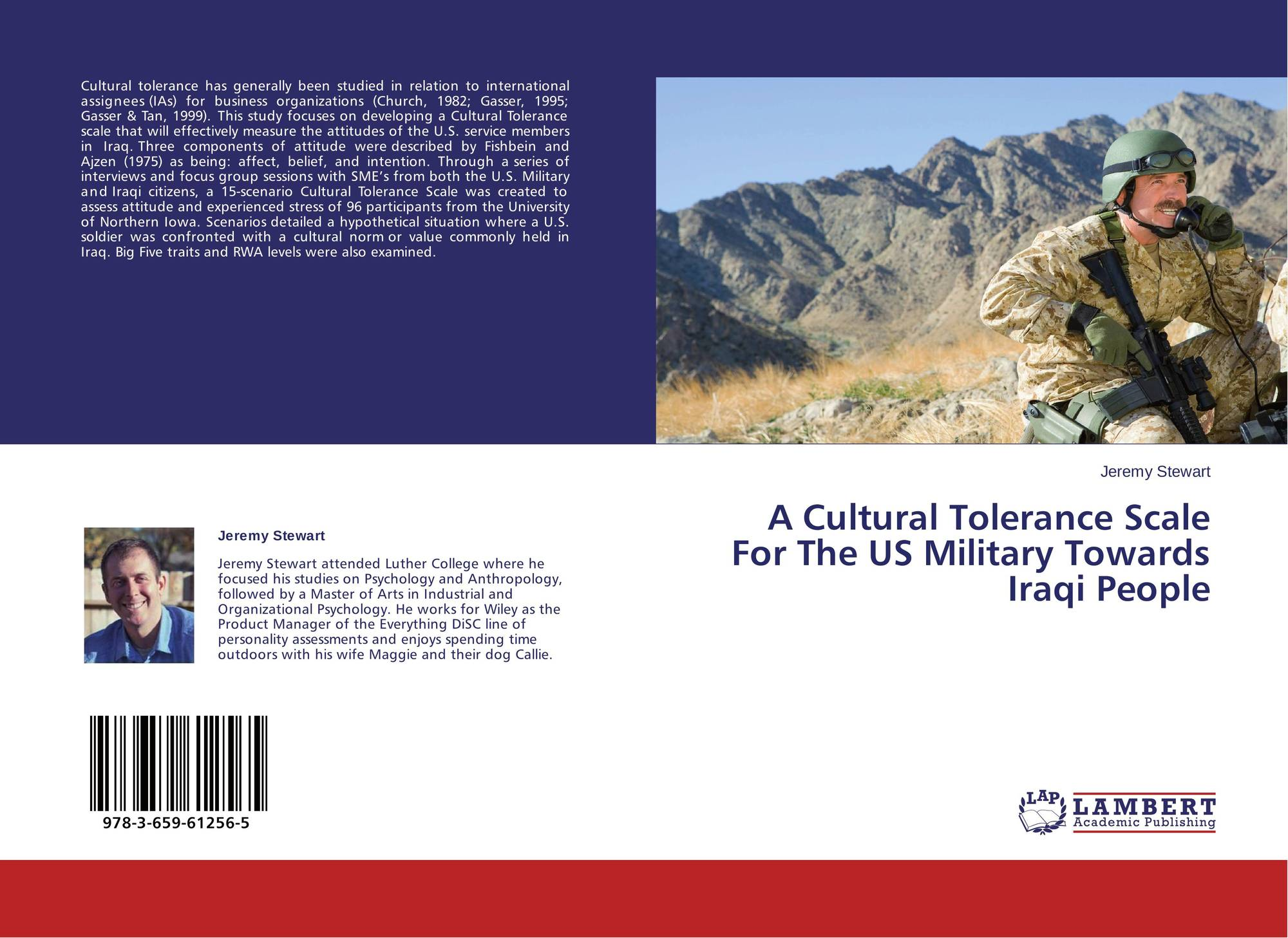 A Cultural Tolerance Scale For The US Military Towards Iraqi