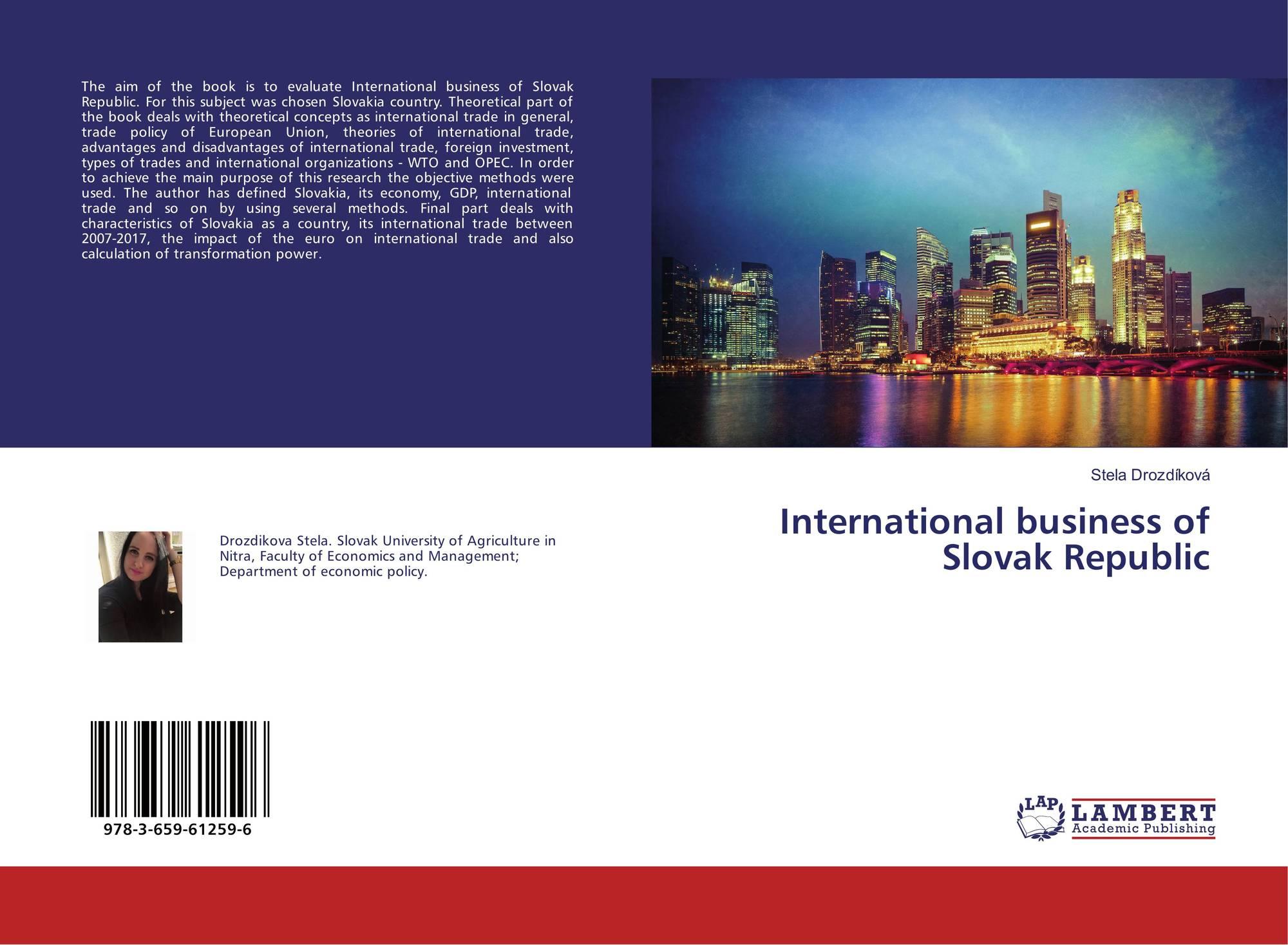 republic of slovakia an economic overview Economic context of the czech republic: economic and political outline analyze market trends economic overview.