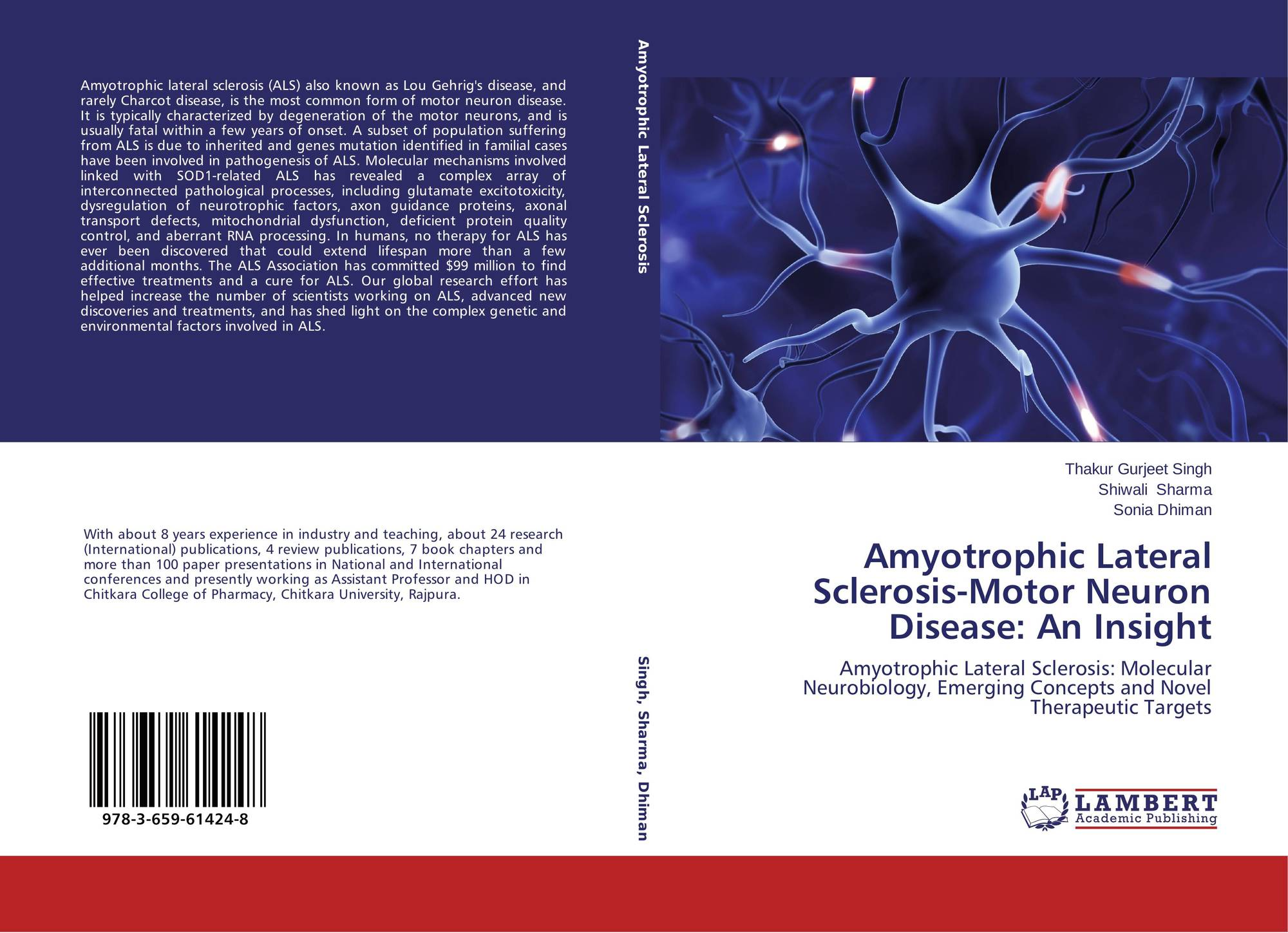 amyotrophic lateral sclerosis research paper