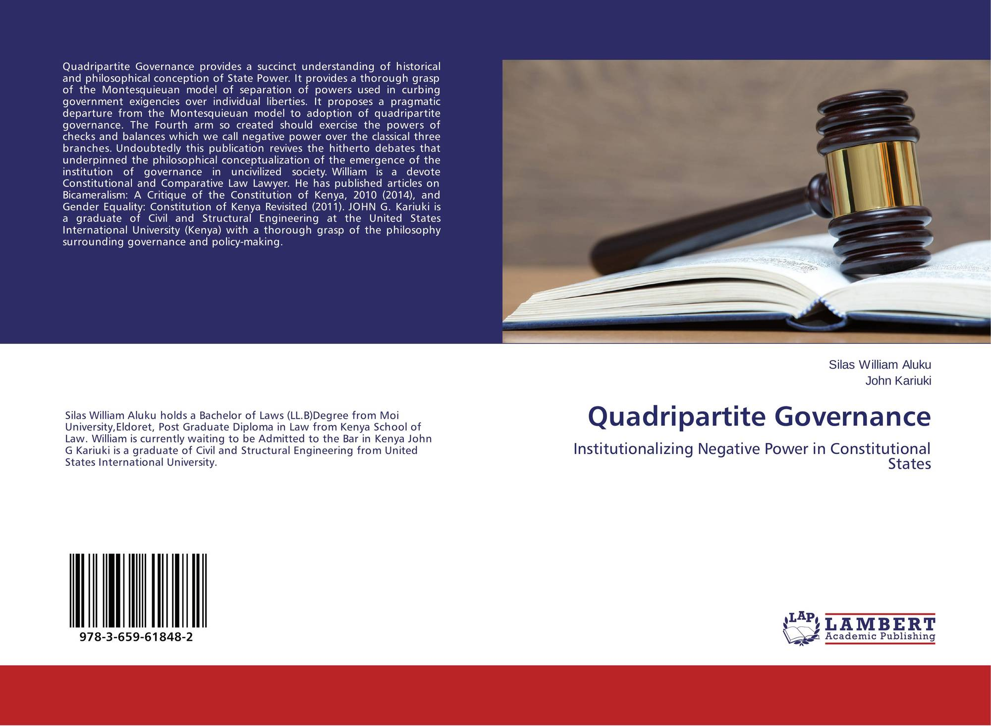 Quadripartite Governance, 978-3-659-61848-2, 3659618489