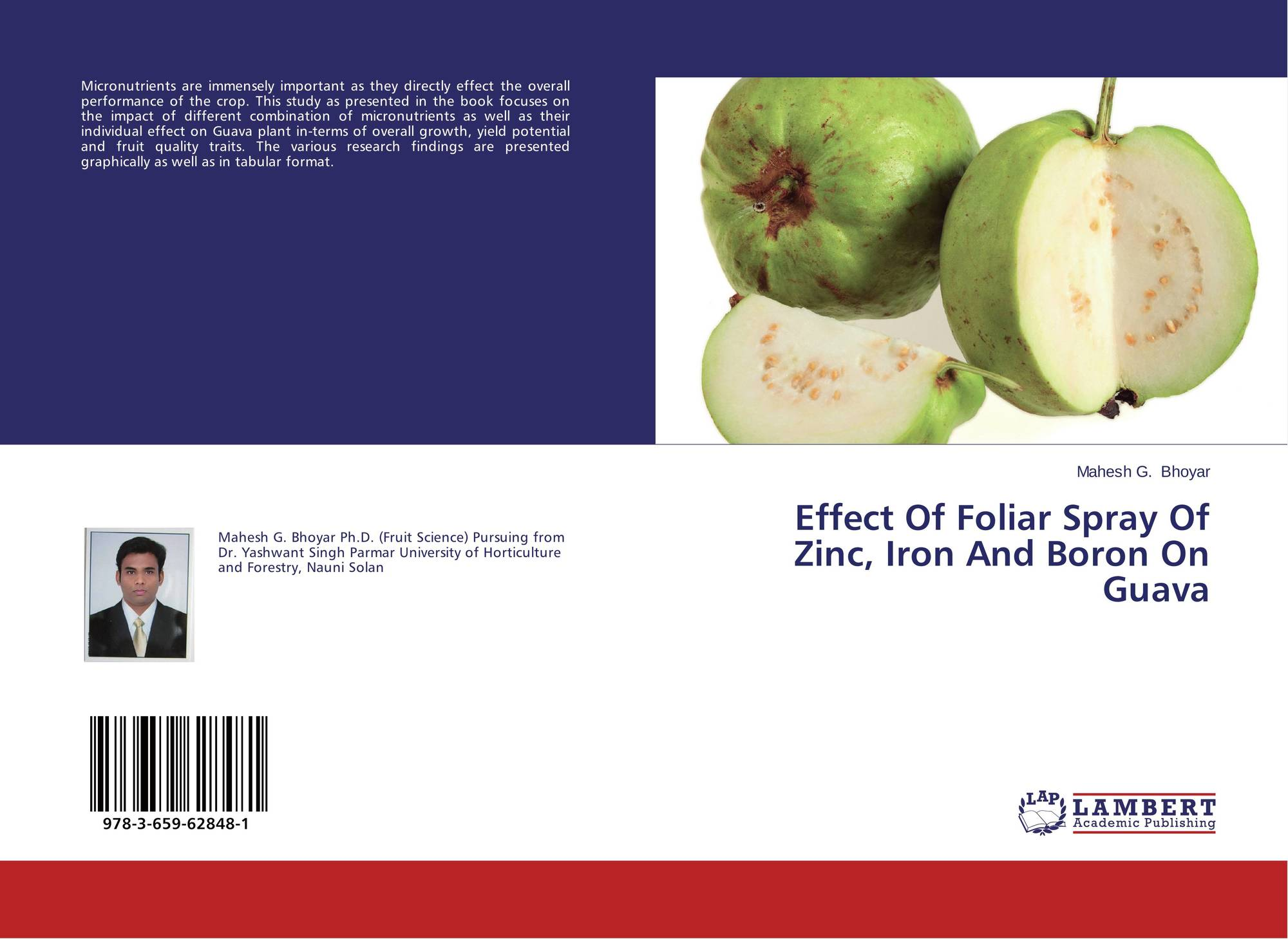 Effect Of Foliar Spray Of Zinc, Iron And Boron On Guava, 978