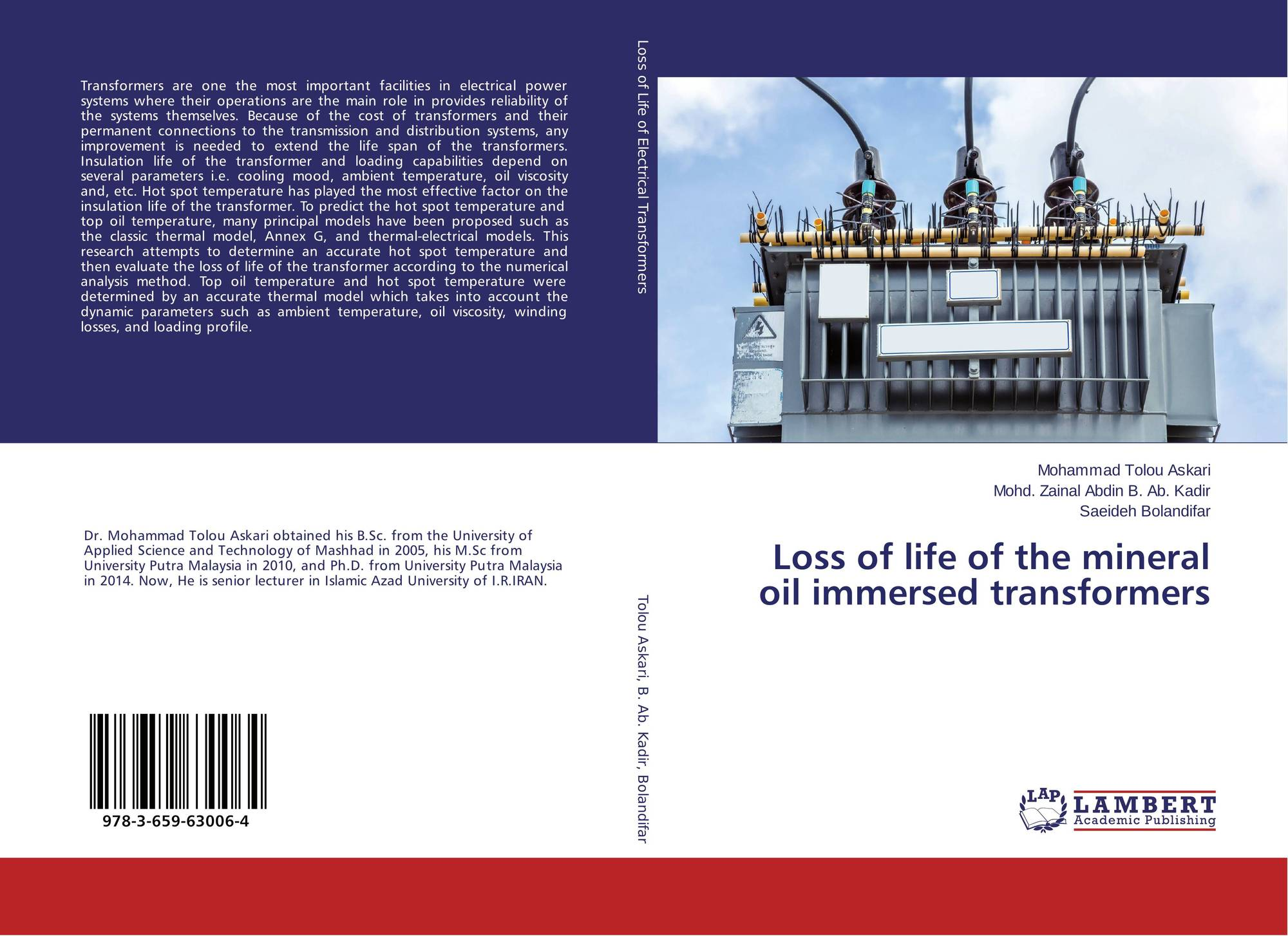 Loss of life of the mineral oil immersed transformers, 978-3