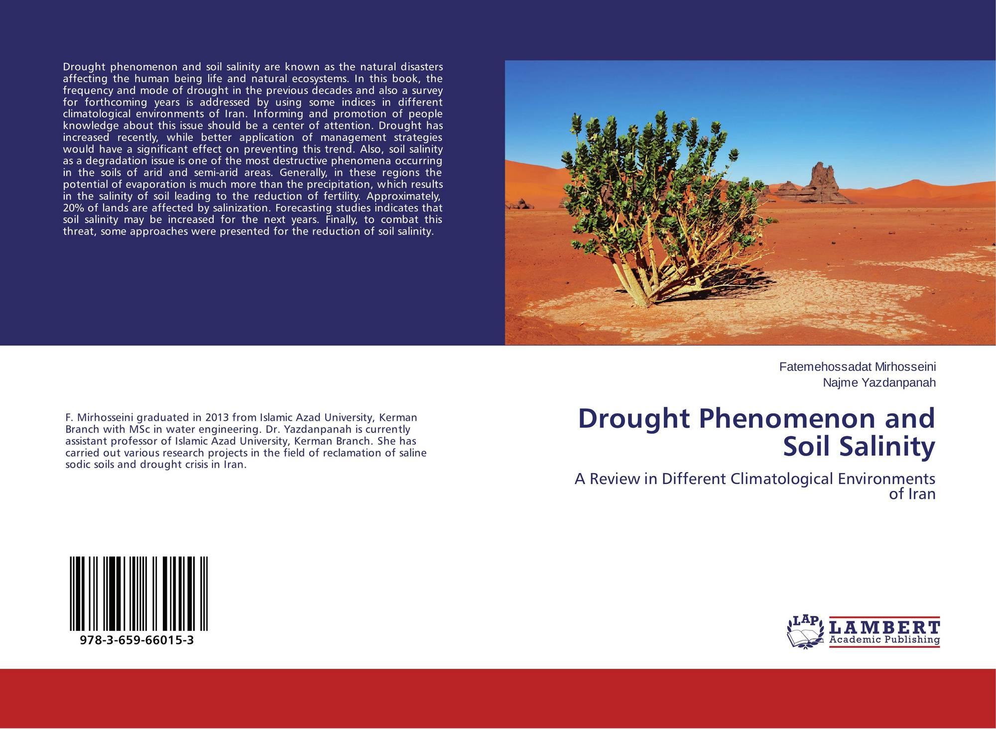 Drought phenomenon and soil salinity 978 3 659 66015 3 for Soil salinization
