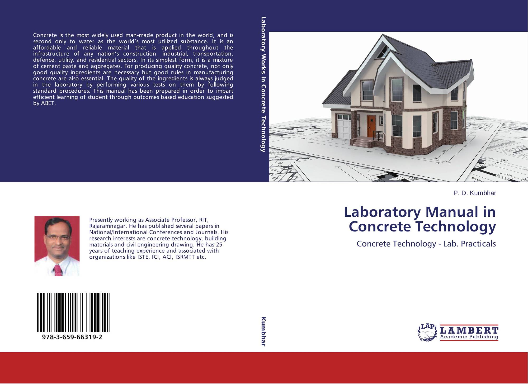 Bookcover of Laboratory Manual in Concrete Technology. 9783659663192