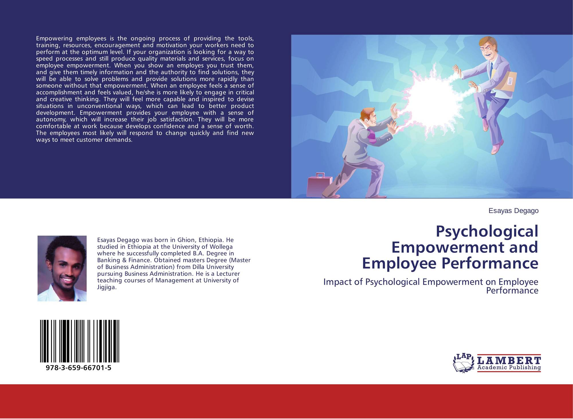 search results for core job characteristics and psychological bookcover of psychological empowerment and employee performance
