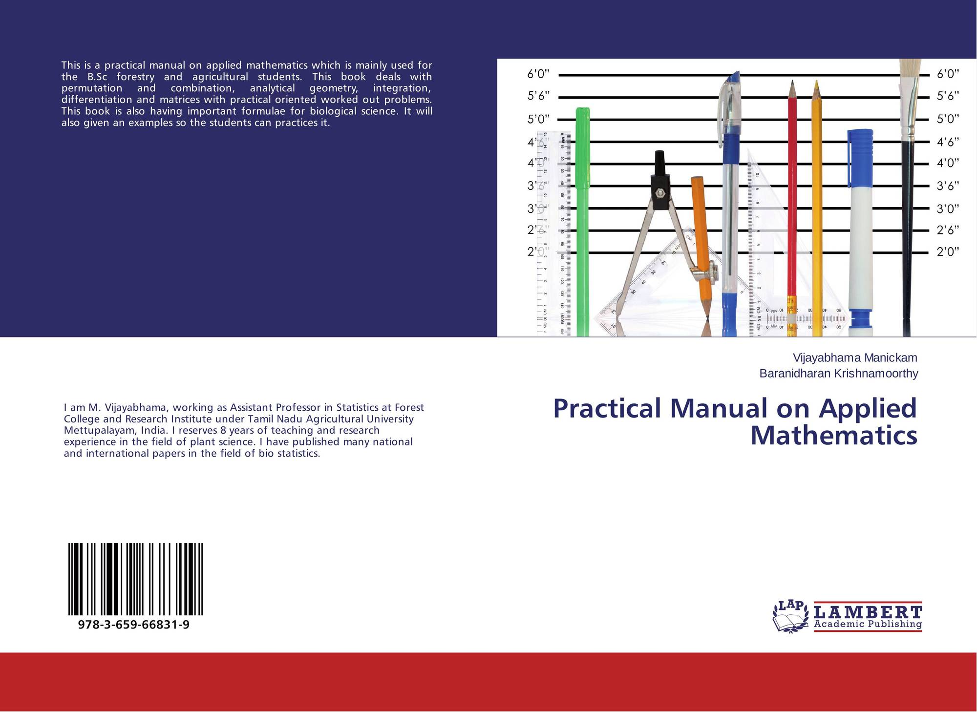 Bookcover of Practical Manual on Applied Mathematics