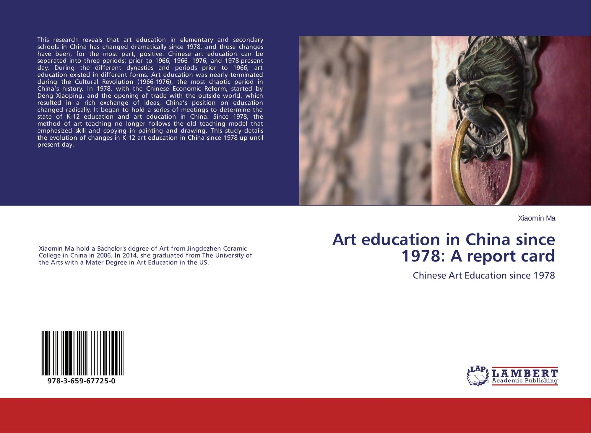 Category/education - Bookcover Of Art Education In China Since 1978 A Report Card