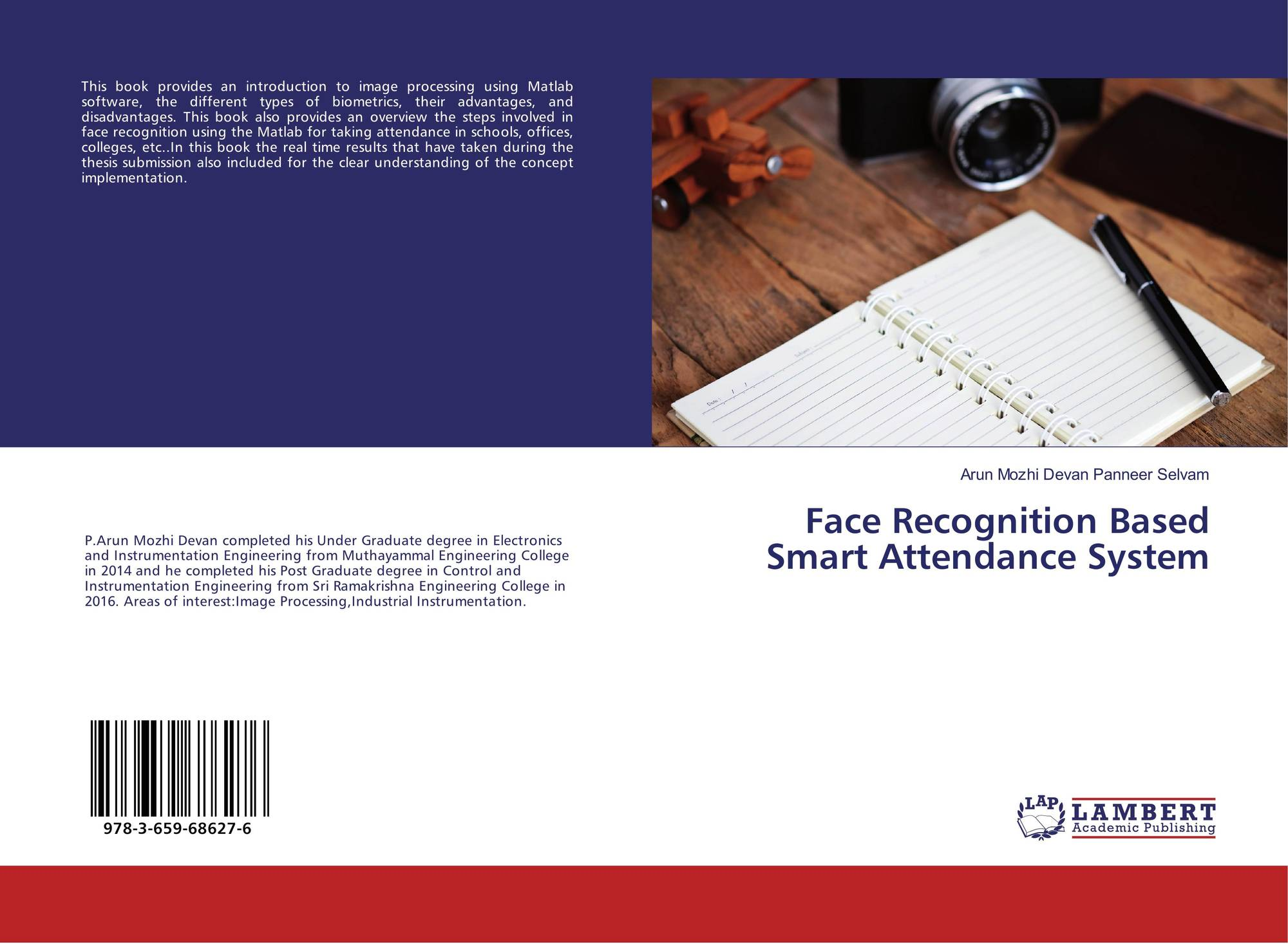 Face Recognition Based Smart Attendance System, 978-3-659