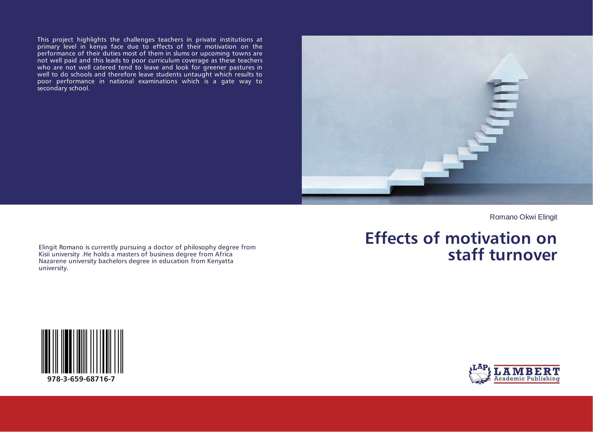 de motivation and high staff turnover commerce essay Staff turnover & motivation  turnover may appear to be high or to occur frequently even  schedule regular staff meetings to share news about.