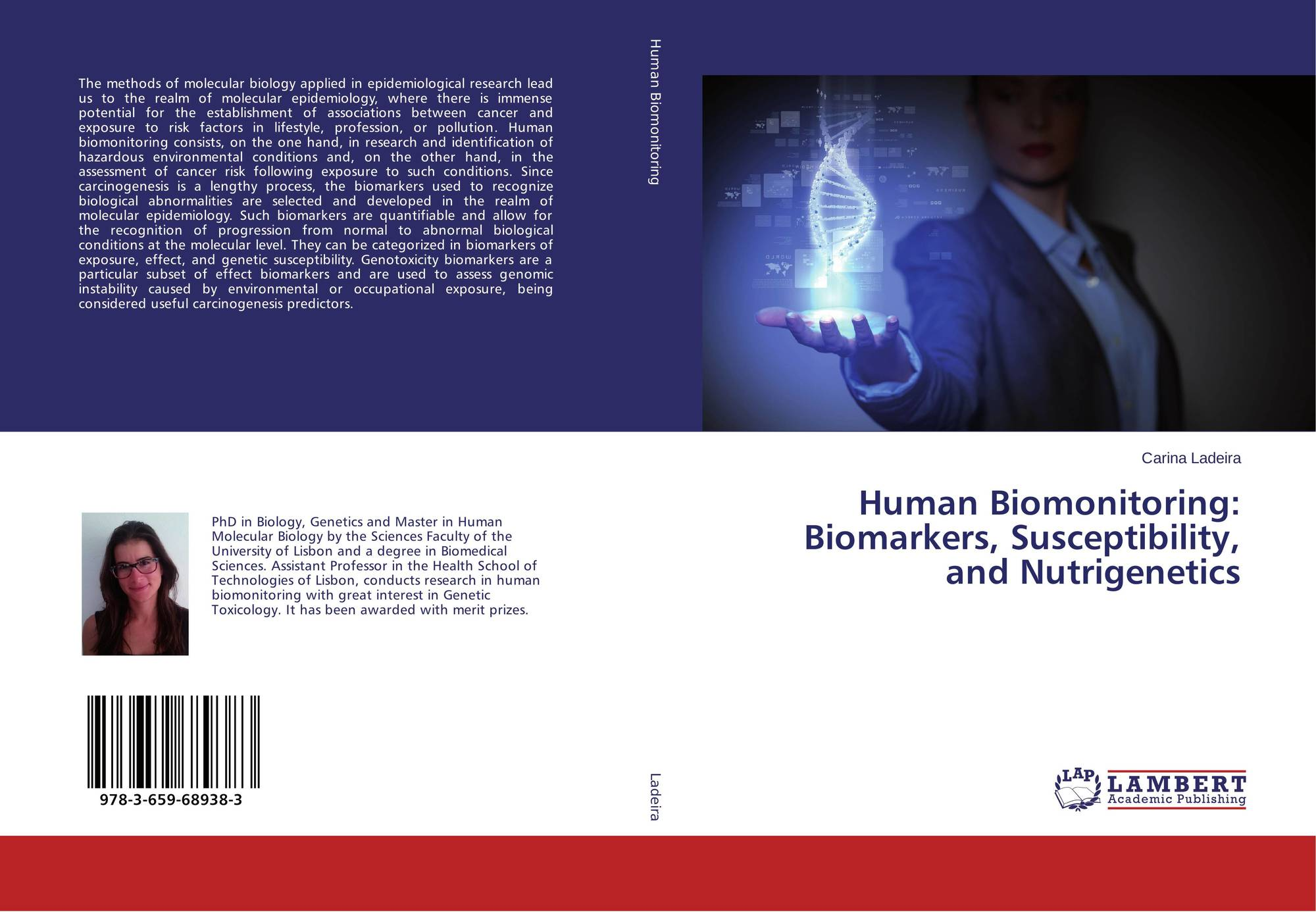 84787a92e310b Bookcover of Human Biomonitoring  Biomarkers, Susceptibility, and  Nutrigenetics. 9783659689383