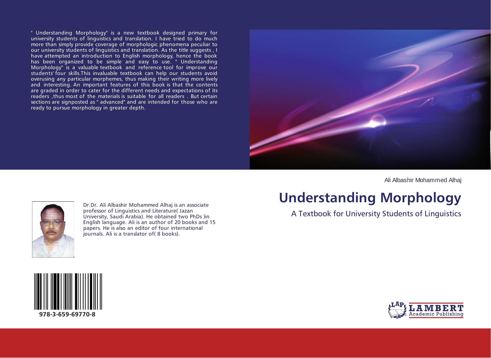 understanding morphology Understanding morphology | martin haspelmath | isbn: 9780340760260 |  kostenloser versand für alle bücher mit versand und verkauf duch amazon.