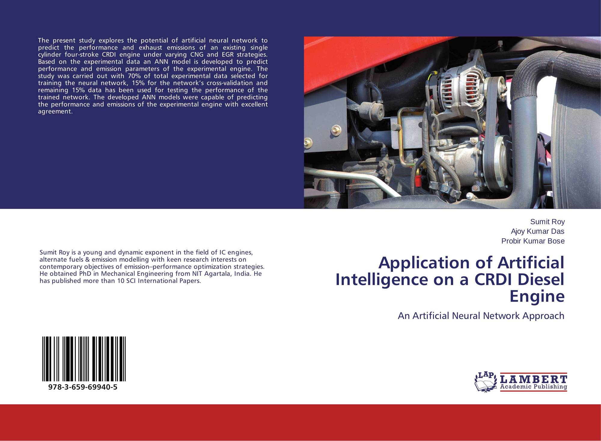 Application of Artificial Intelligence on a CRDI Diesel