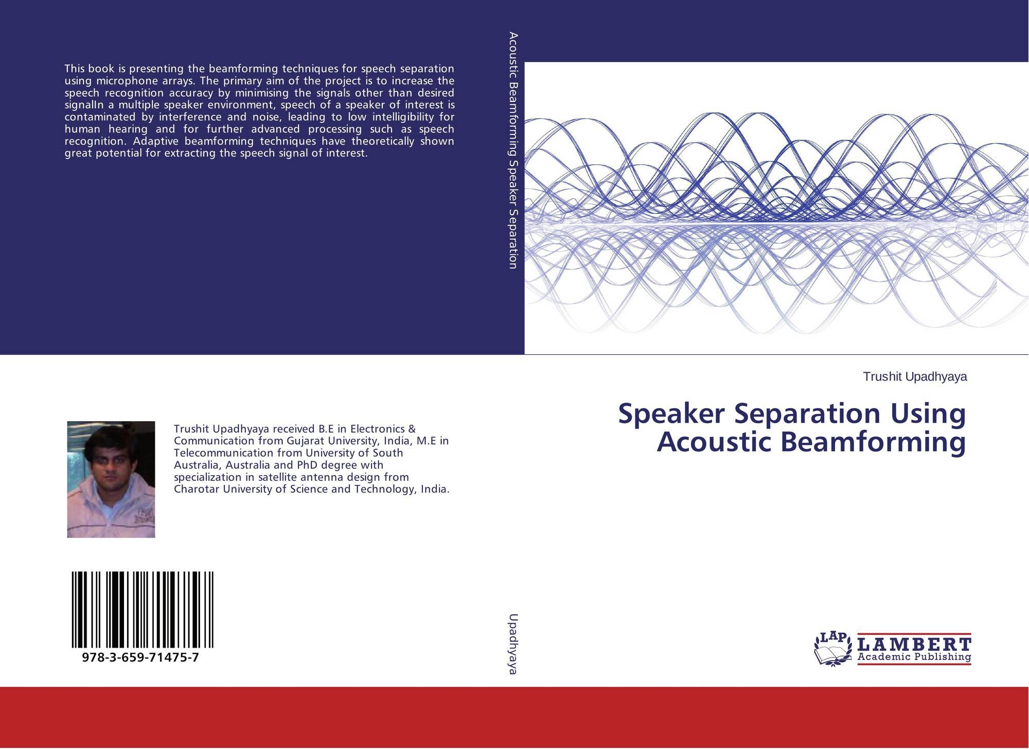 Speaker Separation Using Acoustic Beamforming, 978-3-659