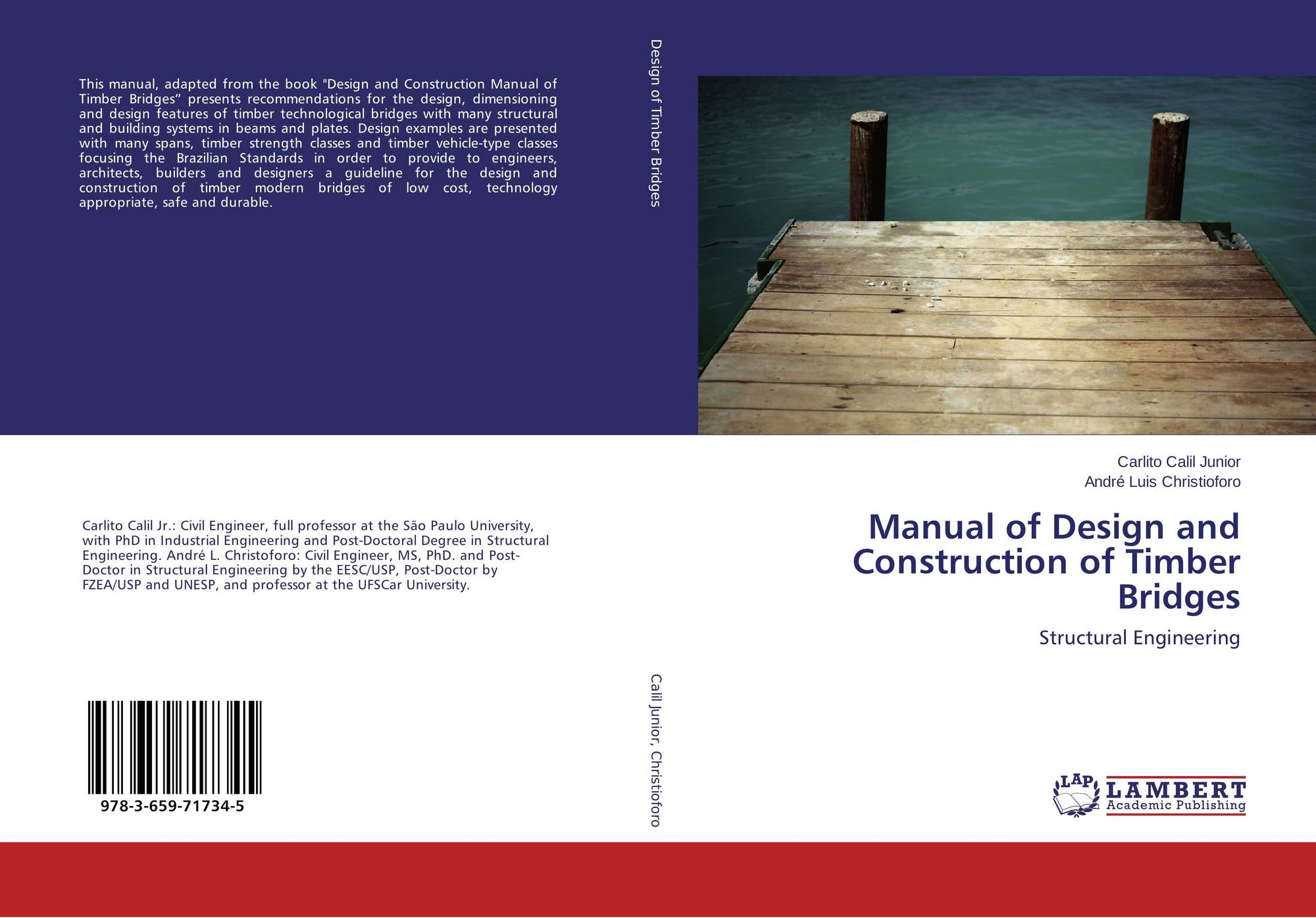Manual of Design and Construction of Timber Bridges, 978-3-659-71734