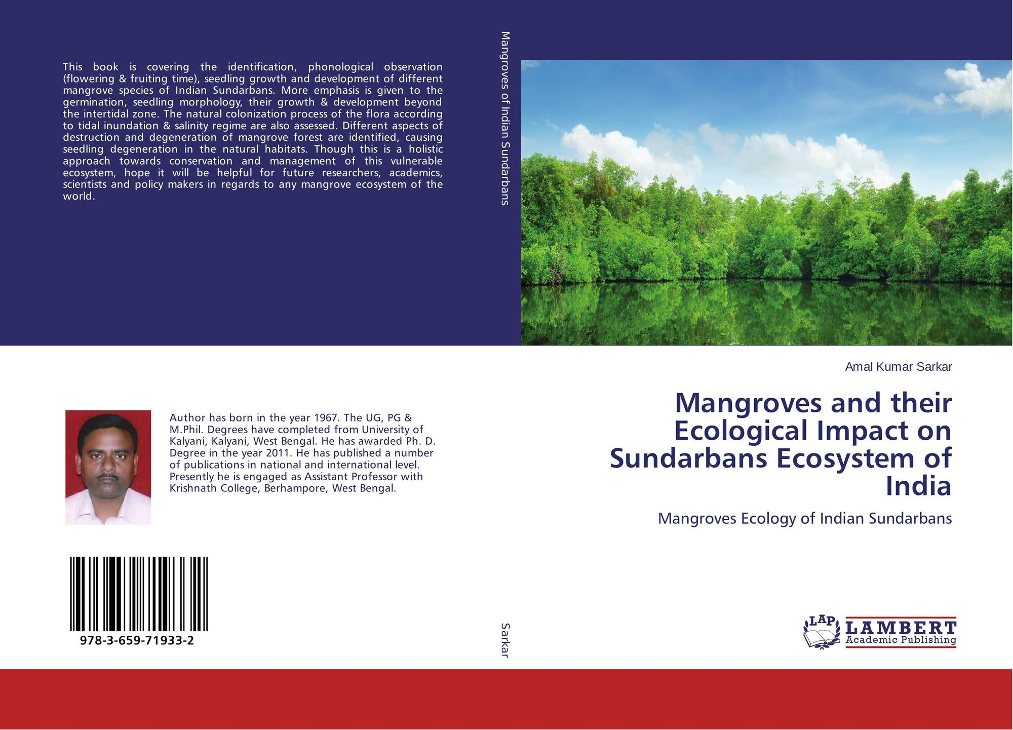 """mangrove thesis As required under the university ordinance 0198 (vi), i state that the present thesis entitled """"environmental studies on mangrove cover changes in goa, and its resident crassostrea population"""" is my original contribution and the same has not been submitted on any previous occasion for the best of my knowledge, the."""