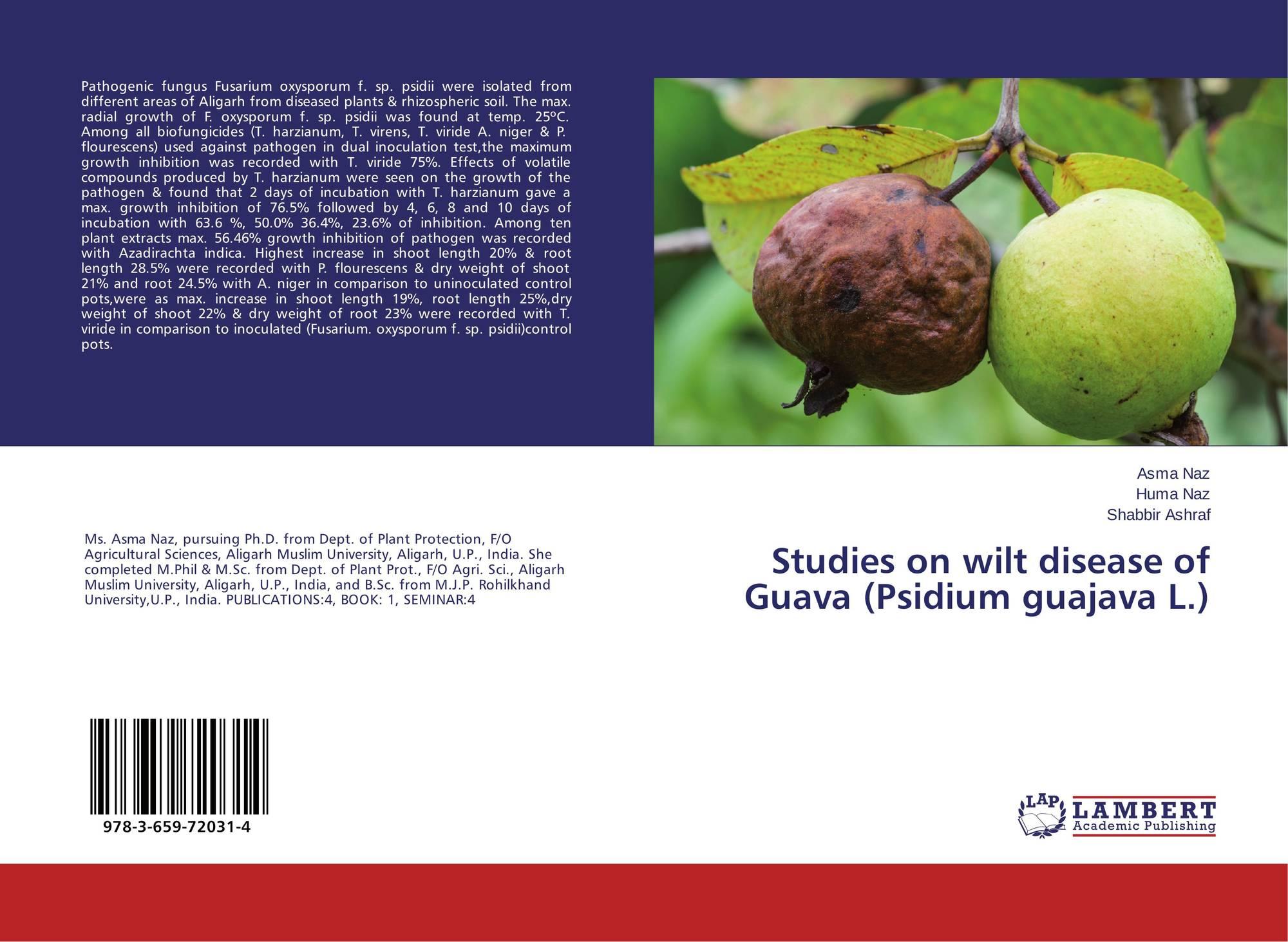 microbial property of psidium guavaja and Full-text paper (pdf): antifungal activity of psidium guajava organic extracts against dermatophytic fungi.