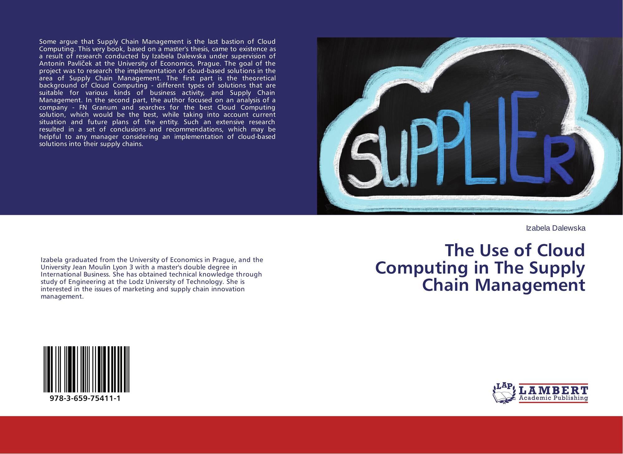 supply chain management cloud computing pdf