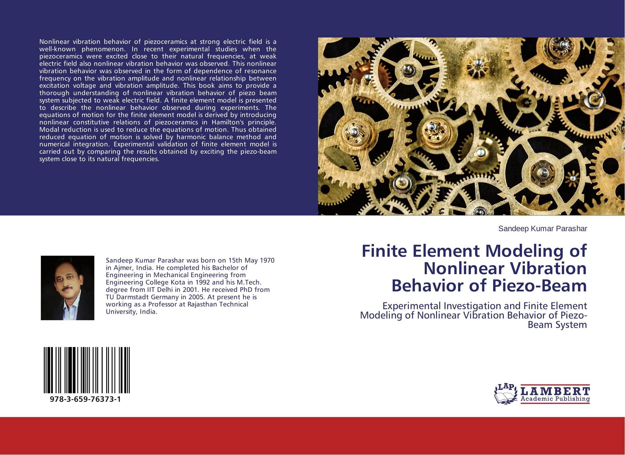 Finite element modeling of nonlinear vibration behavior of for Finite elemente modell