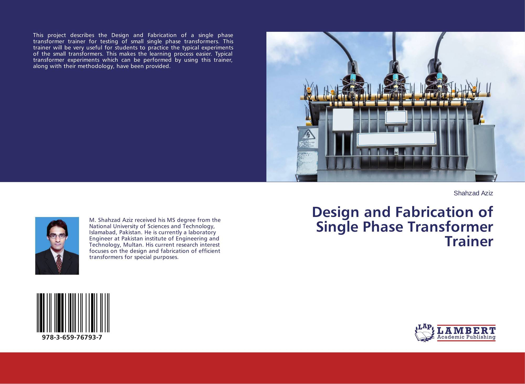 Design and Fabrication of Single Phase Transformer Trainer
