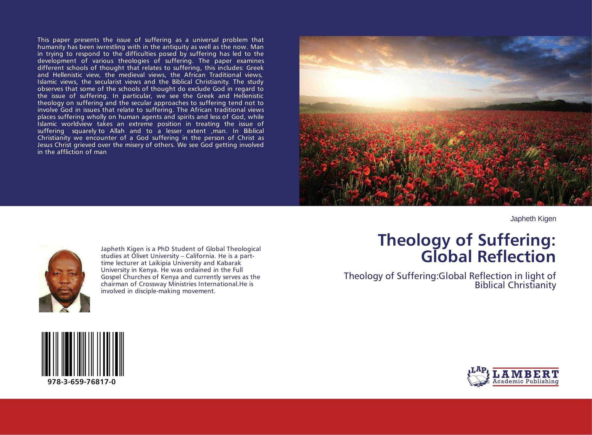 theology of suffering Since the fall of man there has been a difficult concept amongst humanity that looms through thoughts, daily living, and relationship with others and god that is, suffering it is difficult to understand how god, as a means to develop sanctification, adopts suffering or how people.