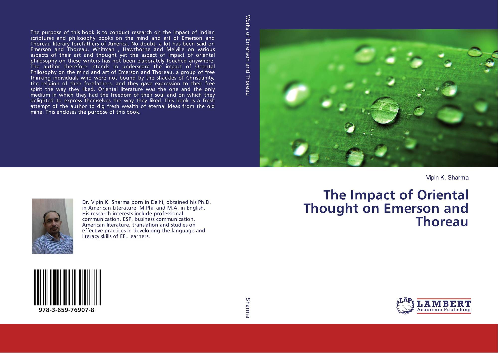 indian thought in emerson thoreau and whitman essay