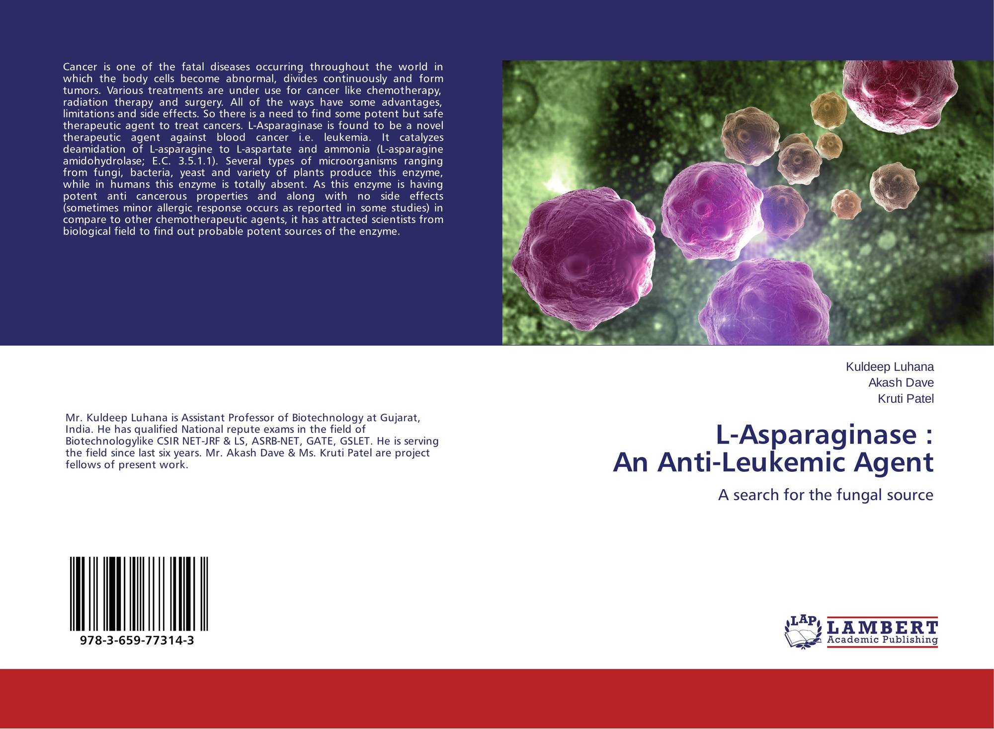 thesis on l-asparaginase Ebscohost serves thousands of libraries with premium essays l-asparaginase is an enzyme based drug used for the treatment of acute lymphoblastic leukemia (all.
