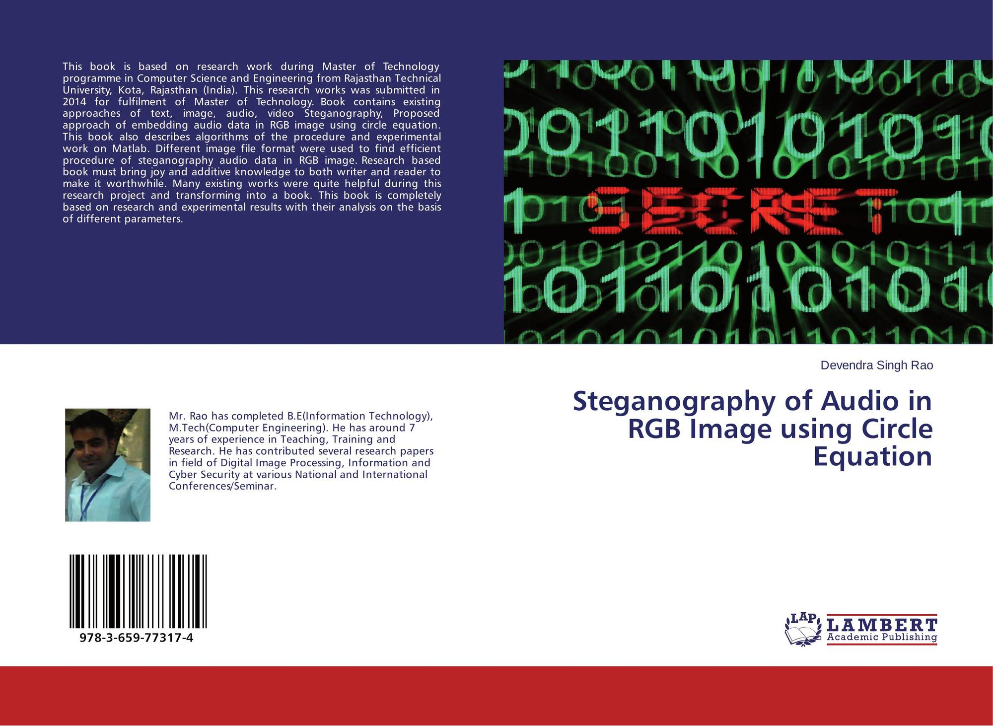 the types and techniques of steganography computer science essay Survey paper on steganography computer science and engineering this paper is completed by referring various research papers on steganography techniques and.