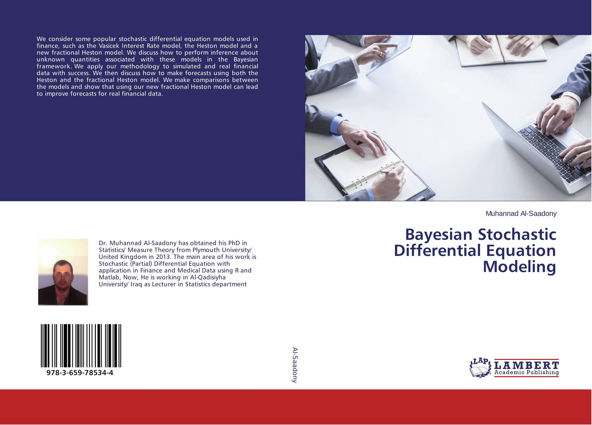 Bayesian Stochastic Differential Equation Modeling, 978-3-659-78534