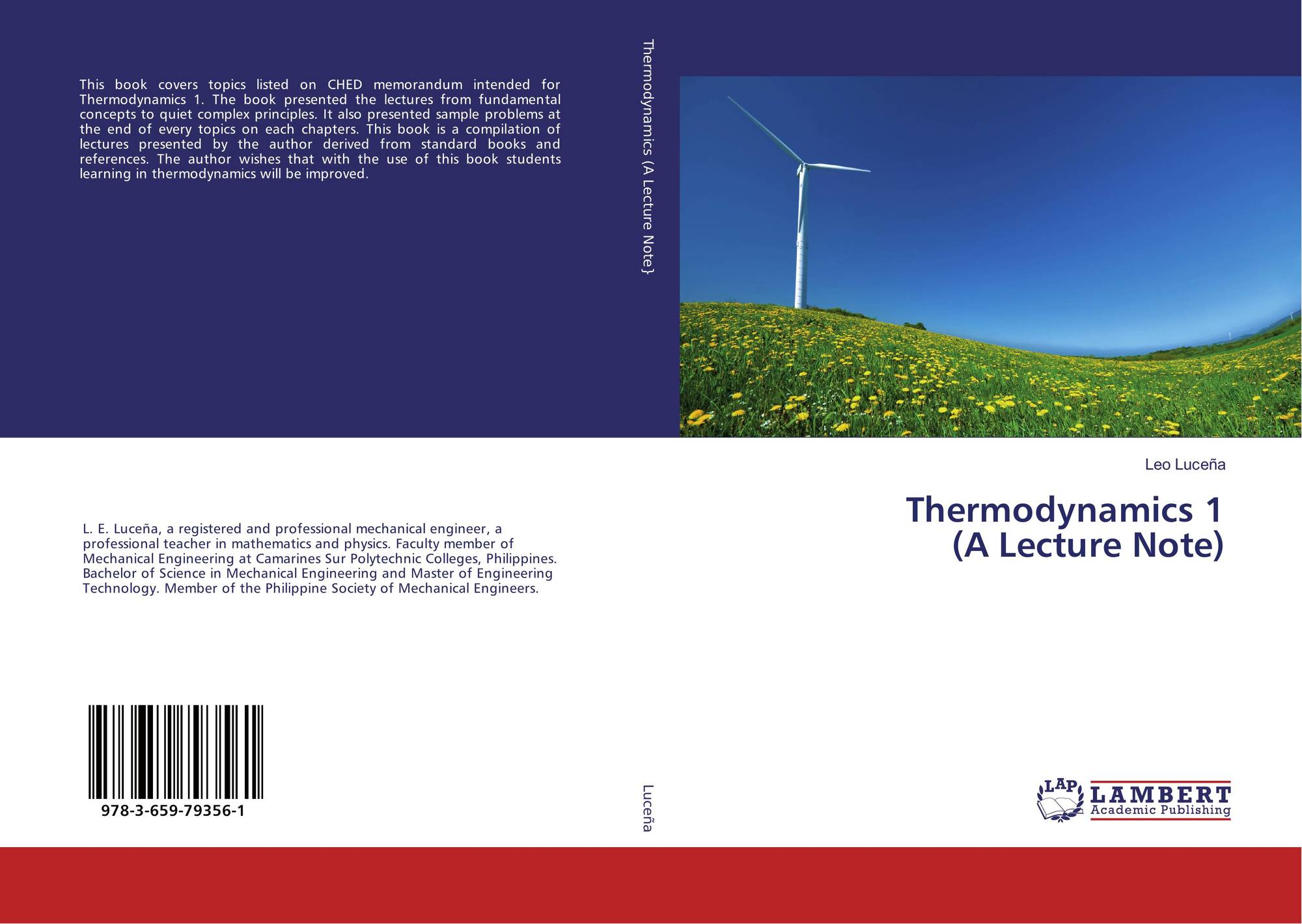 Thermodynamics 1 (A Lecture Note), 978-3-659-79356-1, 3659793566