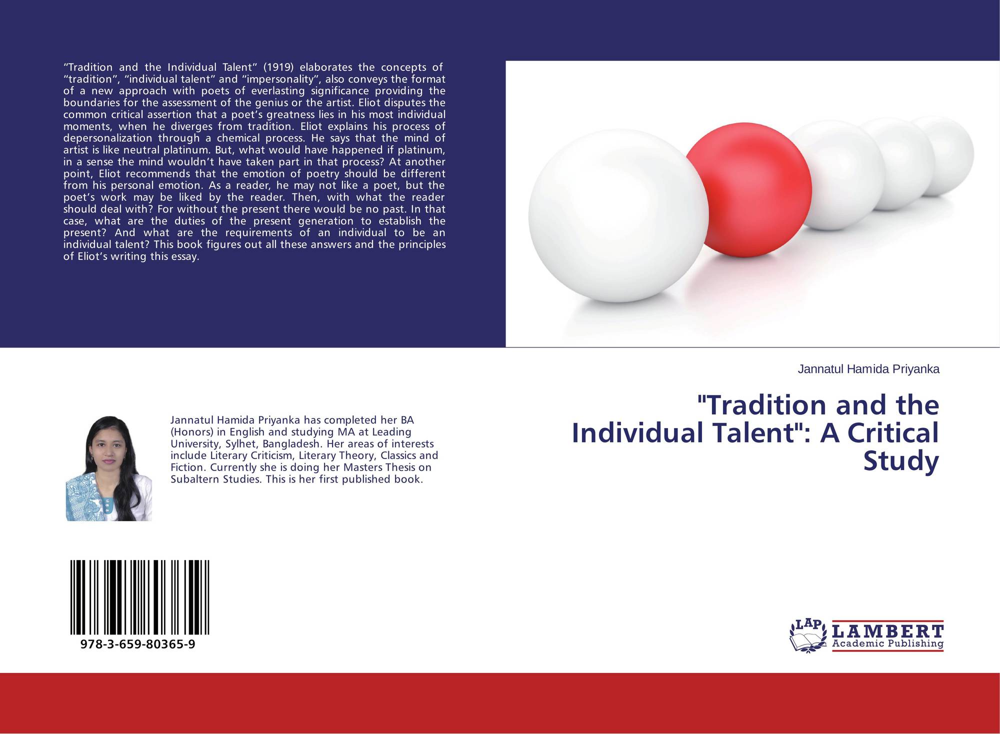 ts eliots conception about poetry in tradition and the individual talent