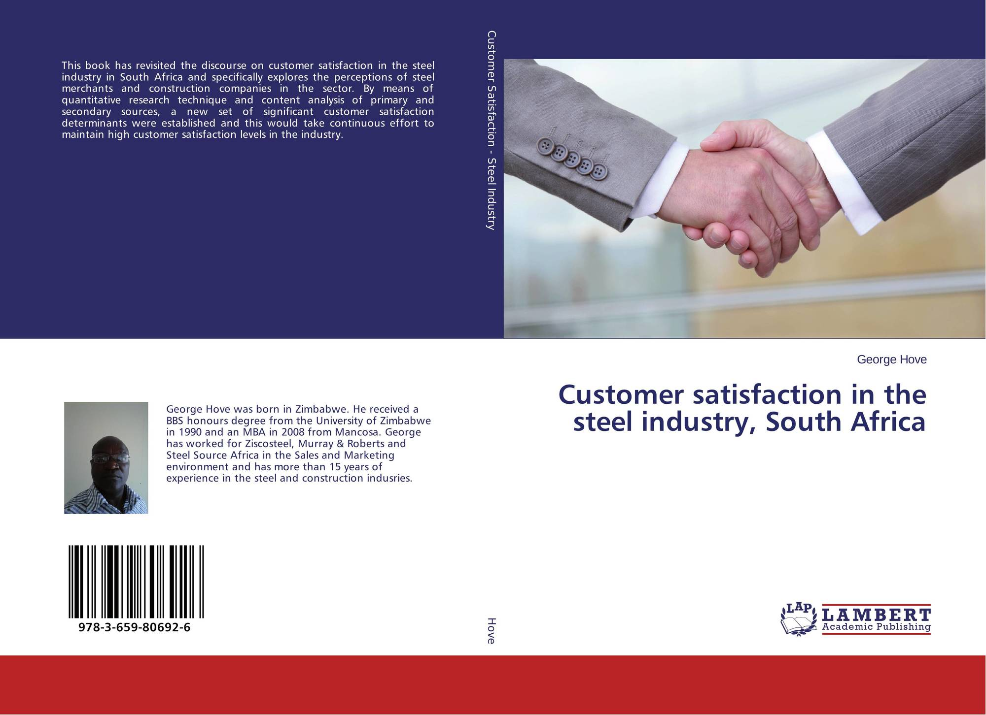 thesis customer satisfaction customer satisfaction in the steel industry south africa lambert academic publishing customer satisfaction in the steel industry south africa lambert