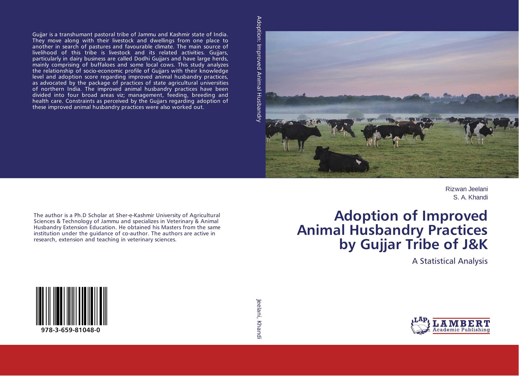 Adoption of Improved Animal Husbandry Practices by Gujjar