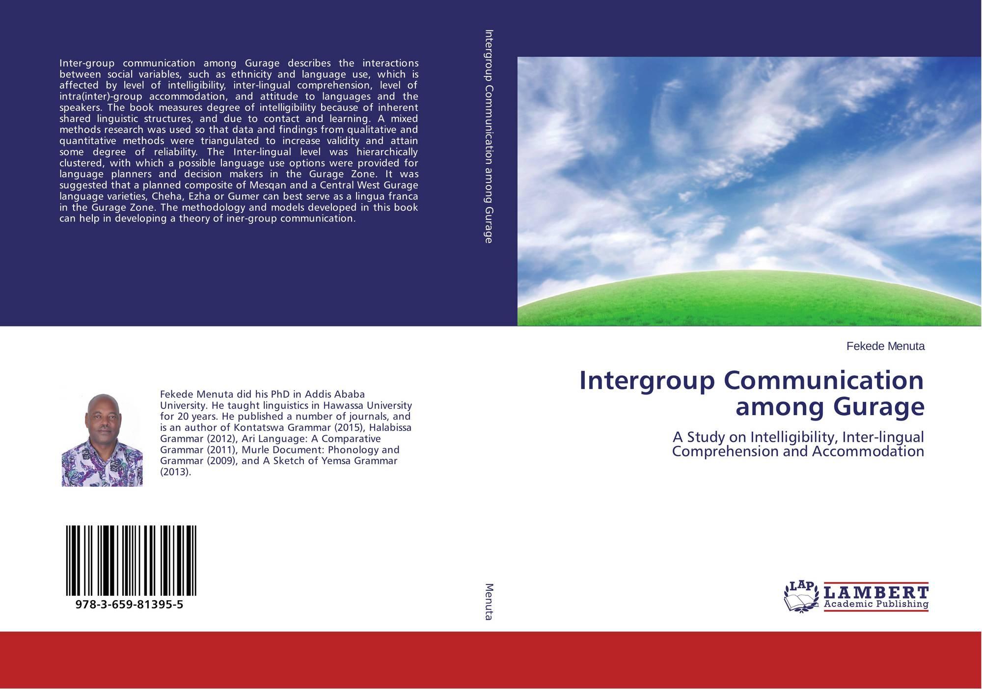 Intergroup Communication among Gurage, 978-3-659-81395-5