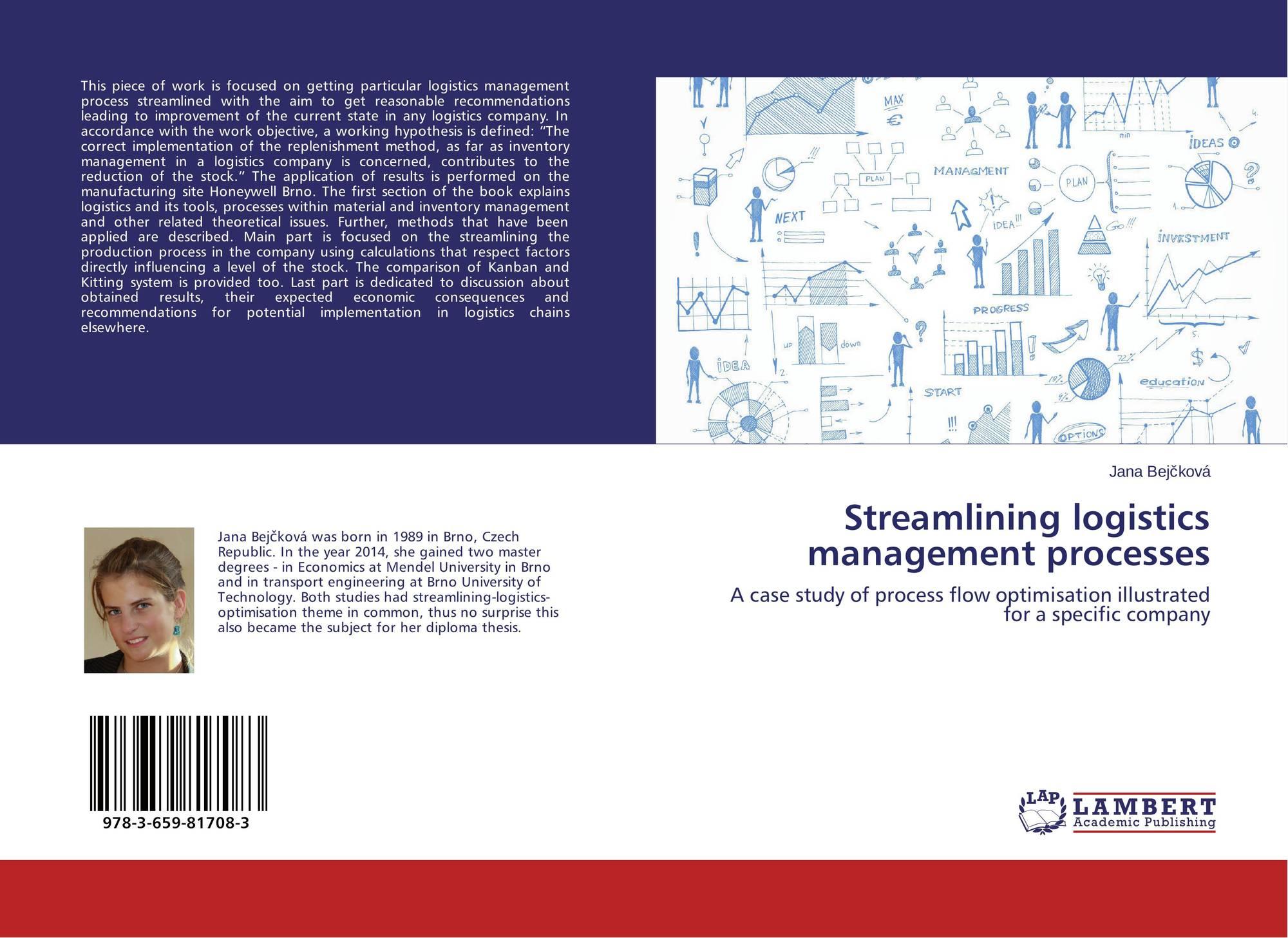 Streamlining logistics management processes, 978-3-659-81708-3 ...