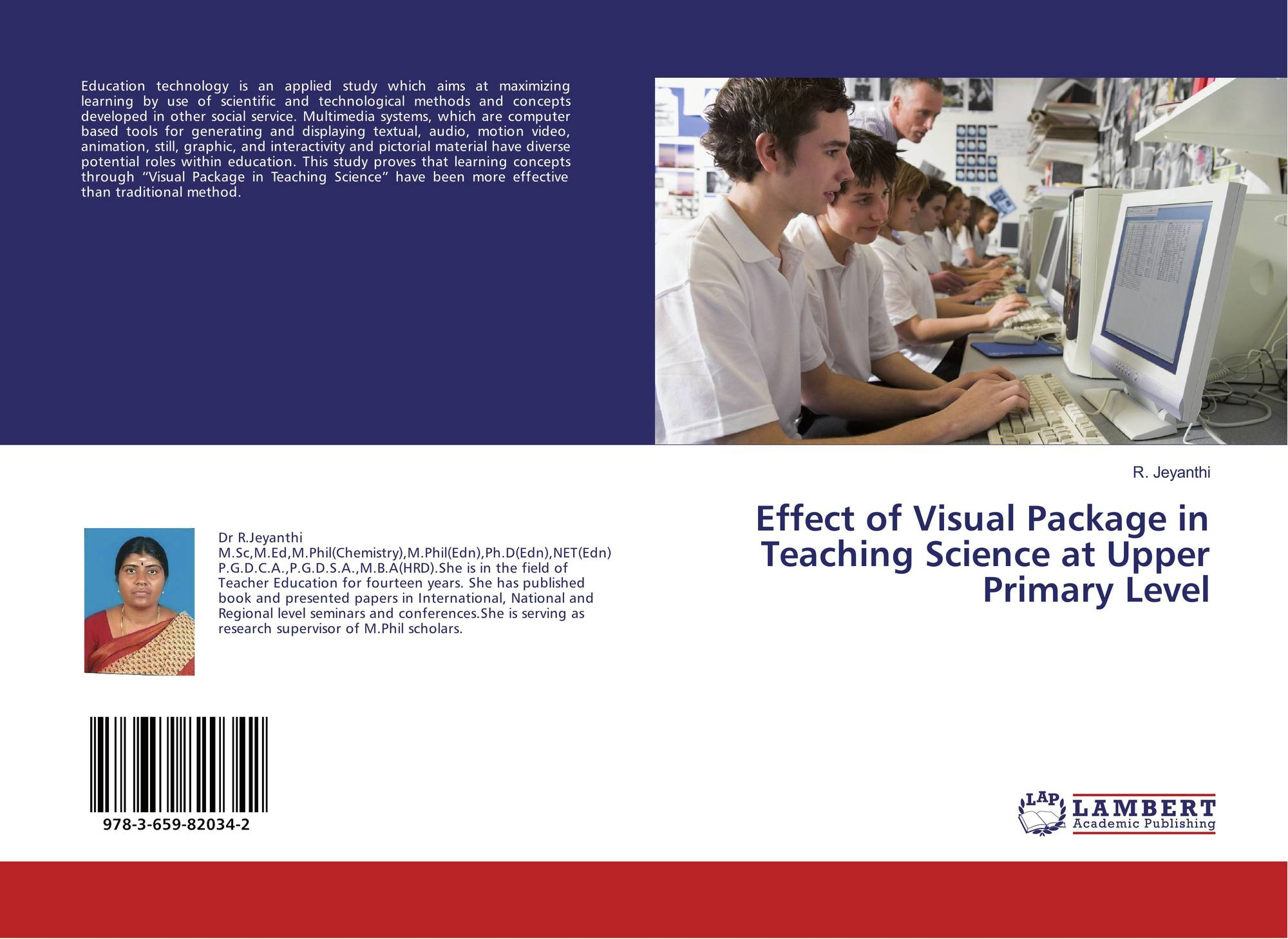 Effect of Visual Package in Teaching Science at Upper Primary Level