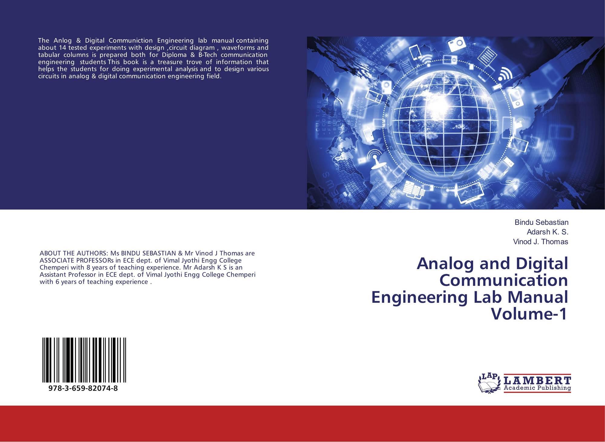 ... Digital Communication Engineering Lab Manual Volume-1. 9783659820748