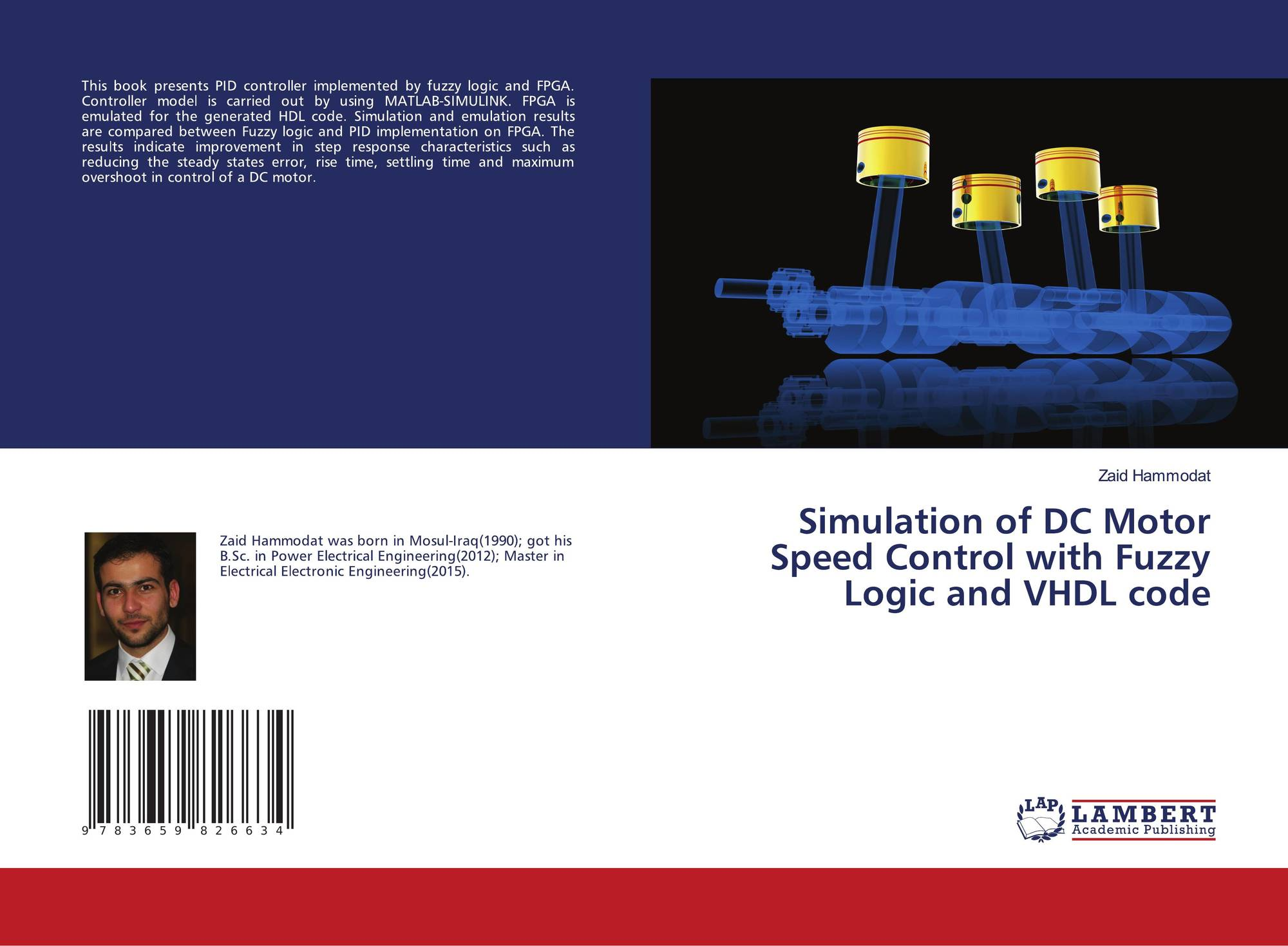 P Id Logic Diagram Simulation Of Dc Motor Speed Control With Fuzzy And Vhdl Code 9783659826634