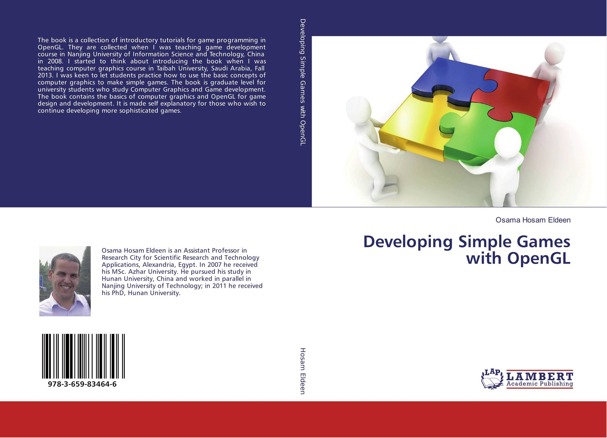 Developing Simple Games with OpenGL, 978-3-659-83464-6, 3659834645
