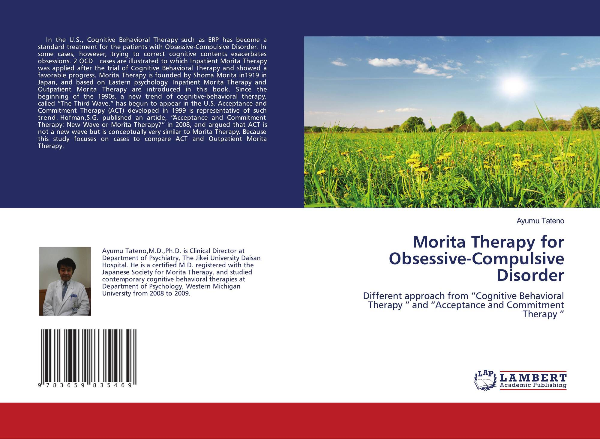 Morita Therapy for Obsessive-Compulsive Disorder, 978-3-659