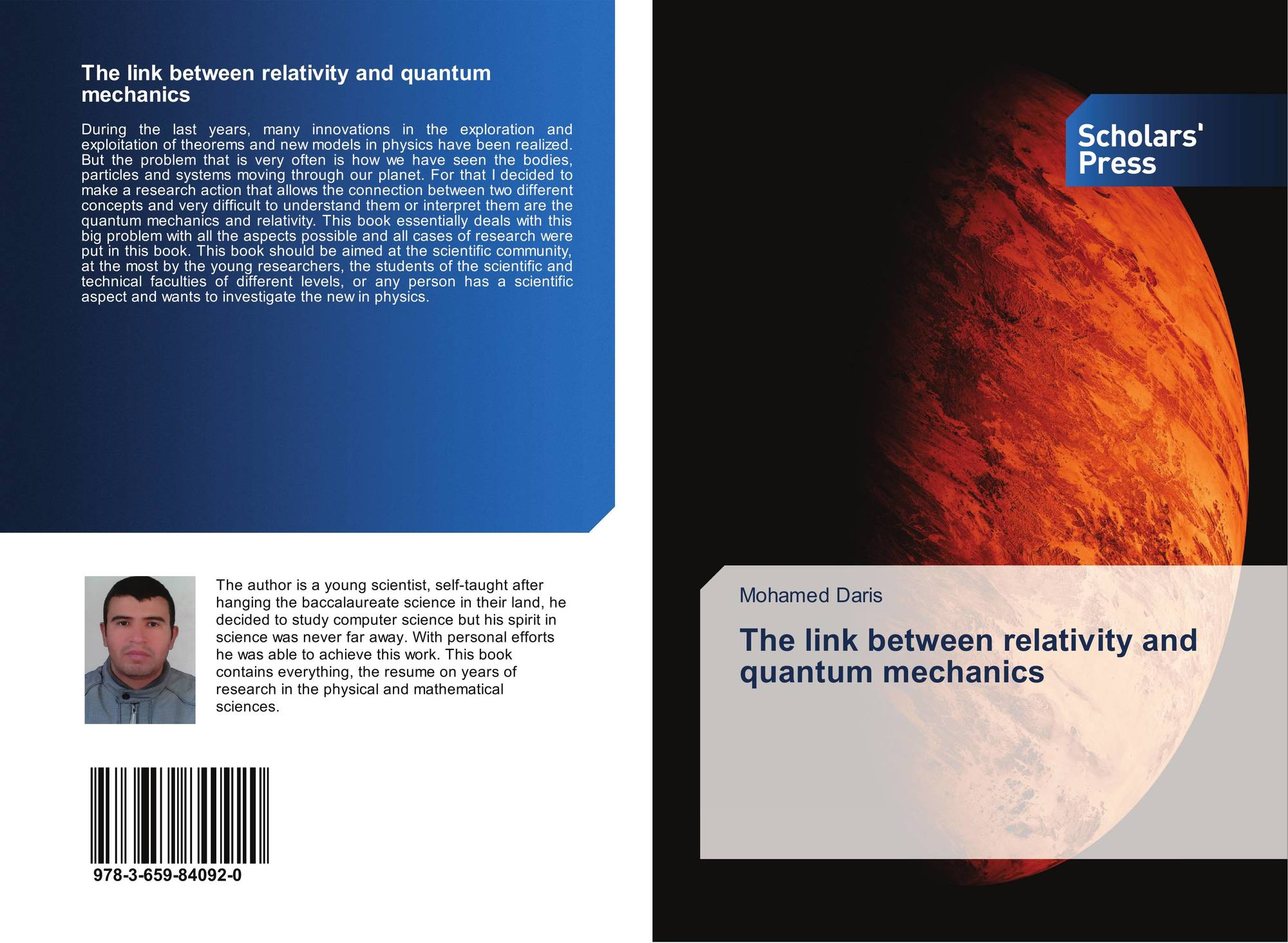 The link between relativity and quantum mechanics, 978-3-659