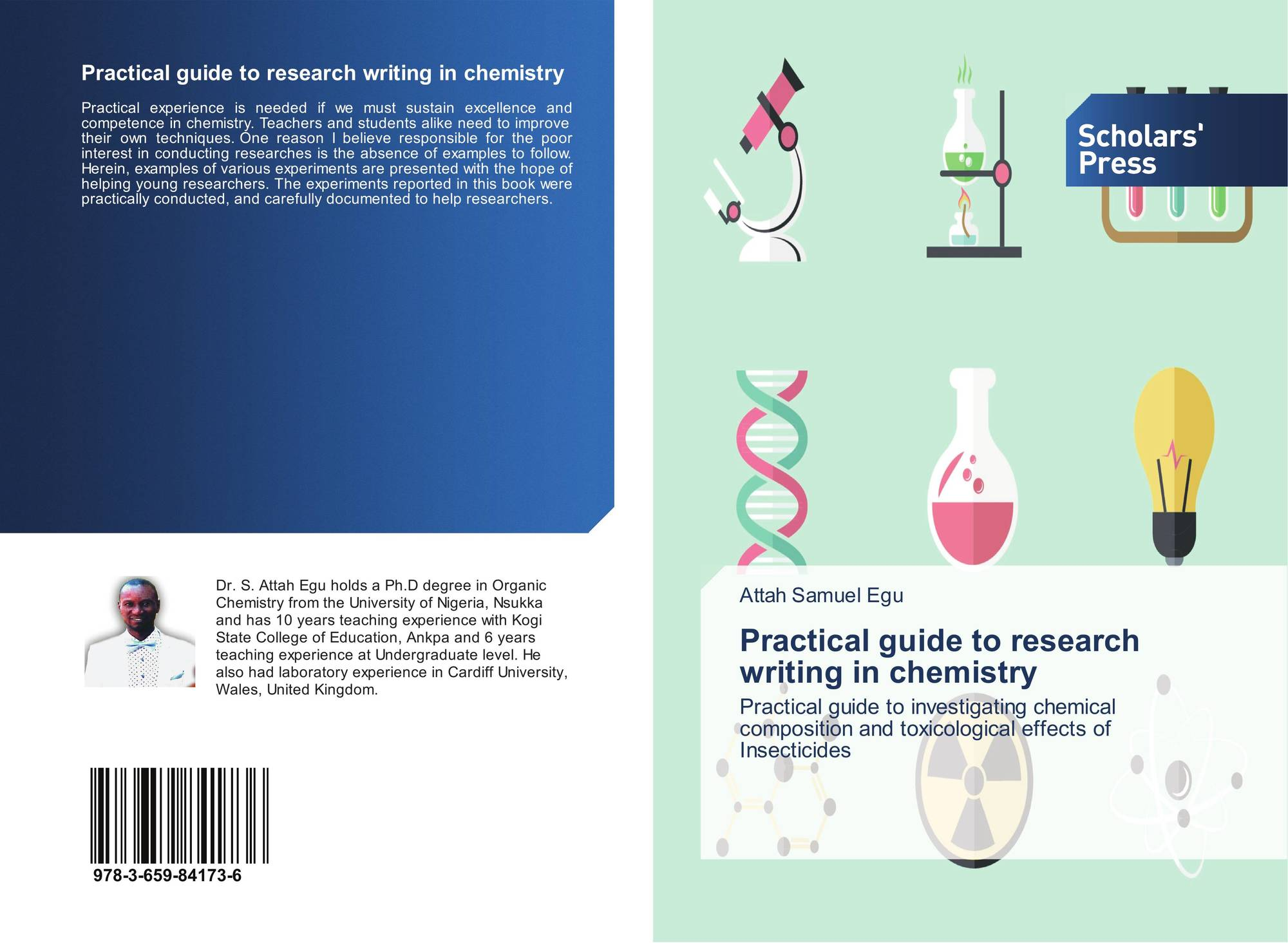 Practical guide to research writing in chemistry, 978-3-659