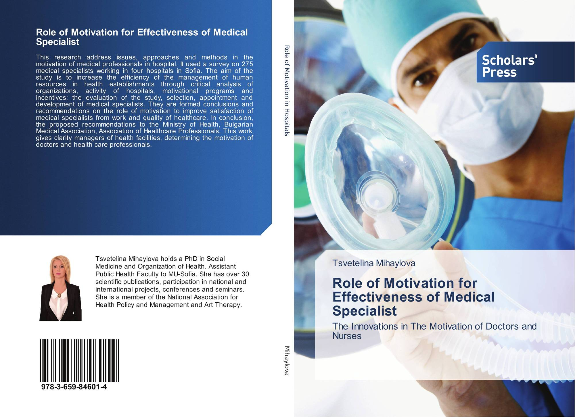 search results for motivation to become a doctor bookcover of role of motivation for effectiveness of medical specialist